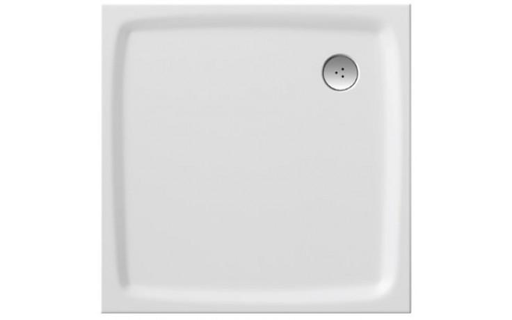 RAVAK PERSEUS PRO FLAT 90 sprchová vanička 900x900mm z liateho mramoru, extra plochá, štvorcová, biela XA037711010