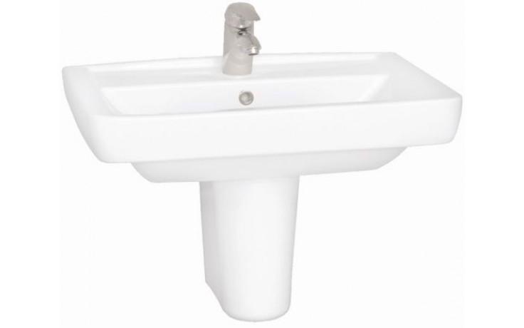 CONCEPT 200 STYLE klasické umývadlo 700x485mm s otvorom, biela alpin 5278L003-1121