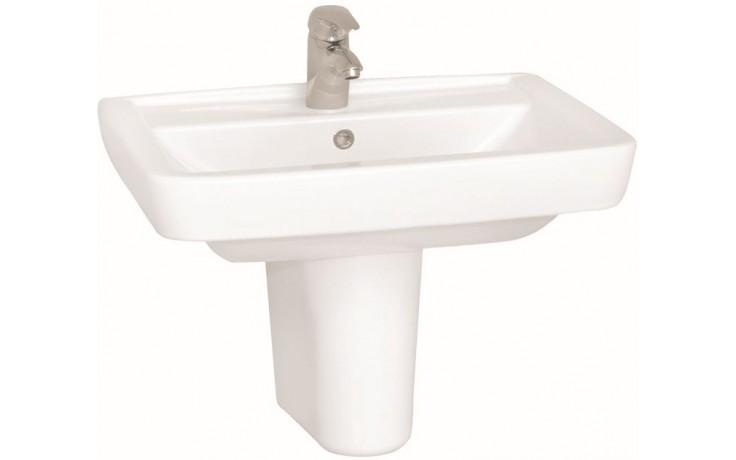 CONCEPT 200 STYLE klasické umývadlo 650x485mm s otvorom, biela alpin 5277L003-1121