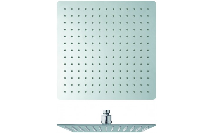 CRISTINA SANDWICH PLUS sprcha hlavová Antikalk-system 30x30cm, chróm