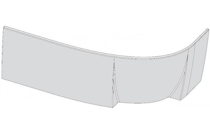 RAVAK ROSA 95 L panel A 1600x565mm čelný, ľavý, snowwhite