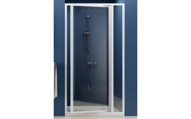 RAVAK SUPERNOVA SDOP 90 sprchové dvere 873x910x1850mm dvojdielne, otočné, pivotové biela / grape 03V70100ZG