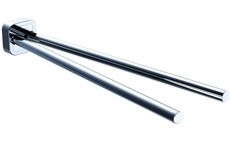 CONCEPT 100 držiak uteráka 409mm dvojitý, otočný, chróm 002-1173
