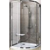 RAVAK PIVOT PSKK3 90 sprchovací kút 870-895x870-895x1900mm, štvrťkruhový, satin/transparent