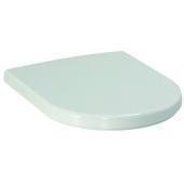 LAUFEN PRO WC sedadlo s poklopom 370x450mm rýchloupínacie chrómované úchytky, duroplast, biela