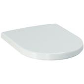 LAUFEN PRO WC sedadlo 380x450mm s poklopom, odnímateľné, spomaľovací sklápací systém, biela