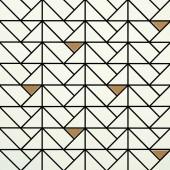MARAZZI ECLETTICA mozaika 40x40cm, white bronze
