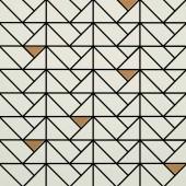 MARAZZI ECLETTICA mozaika 40x40cm, cream bronze