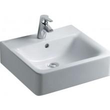 IDEAL STANDARD CONNECT CUBE umývadlo 500x460mm s otvorom a prepadom biela E713801