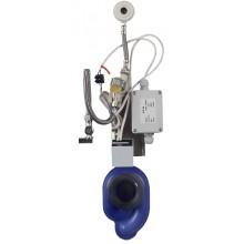 SANELA SLP07Z radarový splachovač 230V AC, na lište, integrovaný zdroj