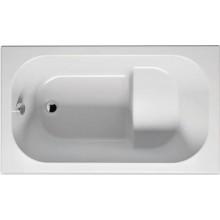 RIHO PETIT BZ25 vaňa 120x70x43cm, obdĺžniková, sedacia, akrylátová, biela