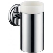 HANSGROHE LOGIS CLASSIC pohár na ústnu hygienu 130mm, chróm/keramika