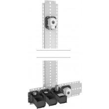 HANSA MATRIX inštalačný balíček pod omietku 09 DN15, elektronická batéria s termostatom
