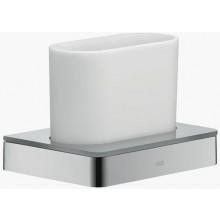 AXOR UNIVERSAL pohár na ústnu hygienu 105mm, chróm/sklo