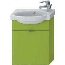 JIKA TIGO skrinka s umývatkom 415x165x535mm s výklopnými dvierkami, zelená 4.5510.7.021.156.1