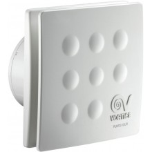 """VORTICE PUNTO FOUR MFO 120/5 """"ventilátor axiálny 118,9mm, s predným panelom, biela"""