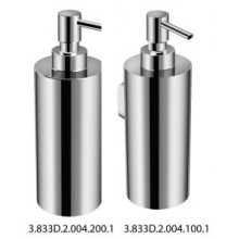 JIKA GENERIC nástenný dávkovač tekutého mydla 60x100x180mm chróm 3.833D.2.004.100.1