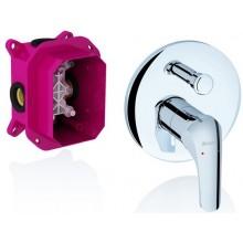 RAVAK ROSA 065.00 sprchová batéria 170x202x144mm podomietková, s prepínačom pre R-box X070050