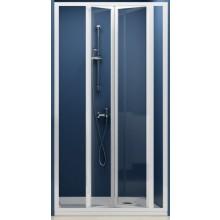 RAVAK SUPERNOVA SDZ3 100 sprchové dvere 970x1010x1850mm trojdielne, zalamovacie, biela / transparent 02VA0100Z1