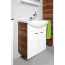 CONCEPT 50 skrinka pod umývadlo 61x31,5x72cm závesná, slivka / biela C50.65.BS
