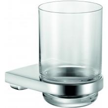 KEUCO MOLL držiak na pohár 74x108mm, vrátane pohára, chróm/sklo