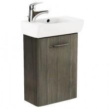 KOLO NOVA PRO kúpeľňová zostava umývadielko 45cm a spodná skrinka, šedý brest