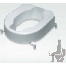 MKW MONARCH nadstavec na WC sedadlo 10cm, biela-termoplast