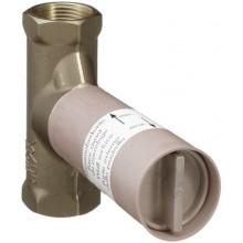 HANSGROHE základné teleso uzatváracieho ventilu pod omietku chróm