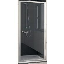 SANSWISS ECO LINE ECOP sprchové dvere 900x1900mm jednokrídlové, matný elox/sklo Durlux