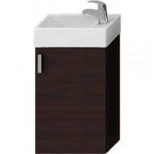 JIKA PETIT skrinka s umývatkom 386x221x585mm, tmavý dub / tmavý dub 4.5351.1.175.302.1