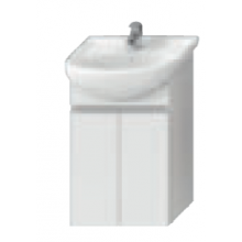 JIKA LYRA skrinka pod umývadlo 500x315x696mm, biela / biely lak 4.5311.1.038.300.1