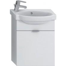 JIKA TIGO skrinka s umývatkom 415x165x535mm s výklopnými dvierkami, biela 4.5510.6.021.500.1