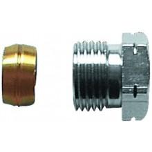 HERZ prechodka G1/2, 15mm pre oceľové a medené potrubie