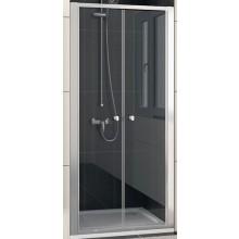 SANSWISS ECO LINE ECP2 sprchové dvere 700x1900mm dvojkrídlové, matný elox/číre sklo
