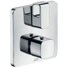 HANSGROHE AXOR URQUIOLA termostat 170x170mm, s podomietkovou inštaláciou, s uzatváracím a prepínacím ventilom, chróm
