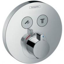 HANSGROHE SHOWERSELECT S batéria 150mm, termostatická, pod omietku, chróm