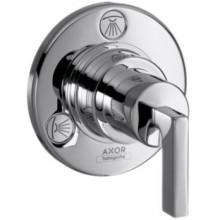 HANSGROHE AXOR CITTERIO TRIO/QUATTRO ventil 108mm, uzatvárací a prepínací, podomietkový, s páčkou, chróm