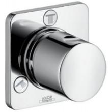 HANSGROHE AXOR CITTERIO M TRIO/QUATTRO ventil 100x100mm, uzatvárací a prepínací, podomietkový, chróm
