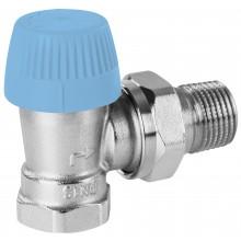 """CONCEPT VPT76-01 termostatický ventil 3/8 """"radiátorový, rohový, s prednastavením"""