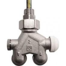 """HERZ VUA-40 regulačný ventil 1/2"""" štvorcestný, pre dvojrúrkové vykurovacie systémy, rohový"""