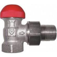 """HERZ TS-90-V termostatický ventil 1/2"""", rohový, s plynulým prednastavením, skrytá regulácia"""