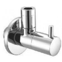 KLUDI ZENTA rohový ventil 50mm, trieda prietoku B, chróm
