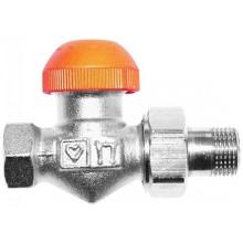"""HERZ TS-98-V termostatický ventil 1/2"""" priamy, s plynulým prednastavením a číselnou stupnicou"""