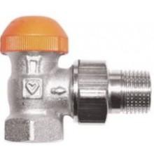 """HERZ TS-98-V termostatický ventil 1/2"""" rohový, s plynulým odčítateľným prednastavením"""