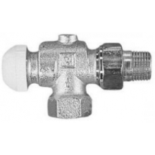 """HERZ TS-90 termostatický ventil 1/2"""" rohový, závitový"""