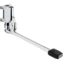 SILFRA tlakový ventil 300x121mm, závitový, s nášľapným pedálom na stenu, chróm