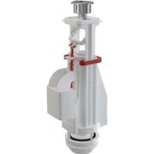 ALCAPLAST A08A vypúšťací ventil pr.60mm, s dvojtlačítkom, ABS, biela/chróm