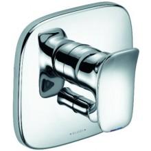 KLUDI AMBA vaňová a sprchová batéria 170x170mm, podomietková, páková, vrchný diel, chróm