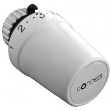 CONCEPT HPT100 termostatická hlavica M30x1,5, biela