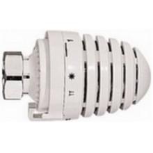HERZ DESIGN termostatická hlavica M28x1,5, 6-28°C, s kvapalinovým snímačom (hydrosnímač), biela